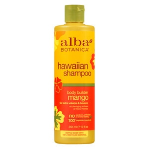 Alba Botanica Body Builder Shampoo, Mango