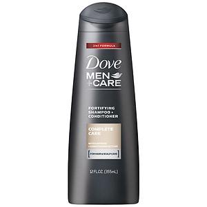 Dove Men+Care Complete Care 2 In 1 Shampoo + Conditioner