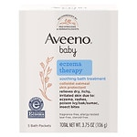 Aveeno Baby Eczema Therapy Soothing Bath Treatment, Single Use Packets- 5 ea
