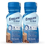 Ensure Enlive Advanced Nutrition Shake, Chocolate, 4pk- 8 oz