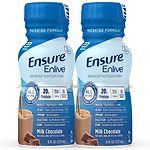 Ensure Enlive Advanced Nutrition Shake, Chocolate, 4pk- 8 oz