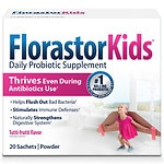Florastor Kids Daily Probiotic Supplement Packets, 250mg- 20 ea
