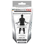 TheraBand CLX - Advanced 5', Silver- 1 ea