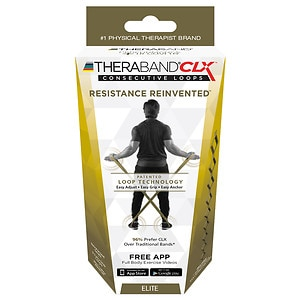 TheraBand CLX- Advanced 5', Gold