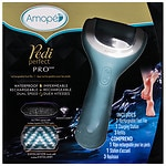 Amope Pedi Perfect Wet & Dry Rechargeable Foot File- 1 ea