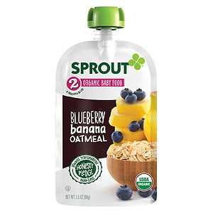 Sprout Sprout Stage 2, Blueberry Banana Oatmeal