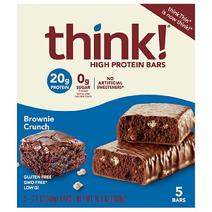 thinkThin High Protein Bars, Chocolate Fudge, 5 pk