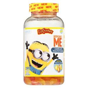 L'il Critters Despicable Me Complete Multivitamins Gummies, Strawberry-Banana