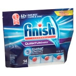 Finish Quantum Max Shine & Protect Dishwasher Detergent Tablets- 14 ea
