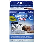 Hyland's Baby Nighttime Tiny Cold Tablets- 125 ea