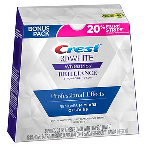 Crest 3D White Whitestrips Professional Effects Teeth Whitening