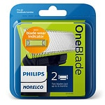 Philips Norelco OneBlade QP220/80 Replacement Blade- 2 ea