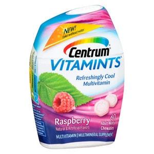 Centrum Vitamints, Chewables, Raspberry- 60 ea