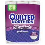 Quilted Northern 24 Double Rolls- 24 ea