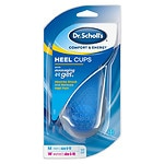 Dr. Scholl's Massaging Gel Heel Cups, Medium- 1 pr