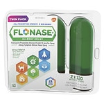 Flonase Allergy Relief Spray, Twin pack, 120ct- .54 oz