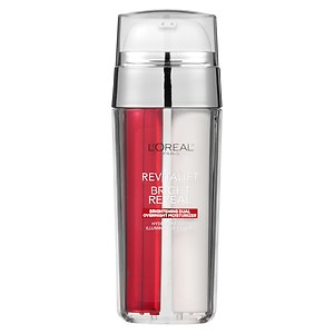 L'Oreal Paris Revitalift Bright Reveal Brightening Dual Overnight Moisturizer