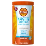 Meta Appetite Control Dietary Supplement, Sugar-Free, Orange- 23.9 oz