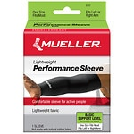 Mueller Performance Sleeve, Black- 1 ea