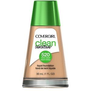 CoverGirl Clean Sensitive Skin Liquid Foundation, Creamy Natural, 1 oz