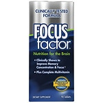 Focus Factor Dietary Supplement Tablets- 90 ea