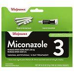 Walgreens Miconazole 3 Ovules 3 Day Treatment- 1 ea