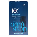 K-Y Duration Male Genital Desensitizer Spray, 36 Sprays- .16 oz