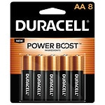 Duracell Alkaline Batteries Coppertop, AA