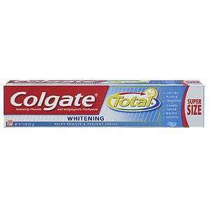 Colgate Total Whitening Anticavity Fluoride and Antigingivitis Toothpaste Gel- 7.8 oz