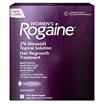 Women's Rogaine Hair Regrowth Treatment, 3 Month Supply, 3 pk- 2 oz
