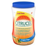 Citrucel - Sugar Free Fiber Therapy for Regularity, Methylcellulose, Orange Flavor