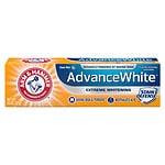 Arm & Hammer Dental Care Advance White Extreme Whitening Baking Soda & Peroxide Toothpaste, Fresh Mint- 4.3 oz