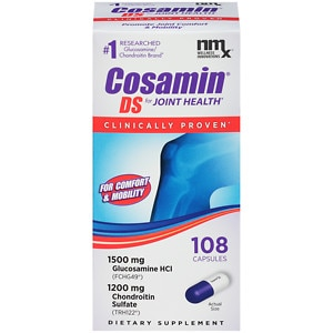 Cosamin DS Joint Health Supplement, Capsules- 108 ea