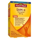Nature Made SAM-e Complete, 200mg, Tablets