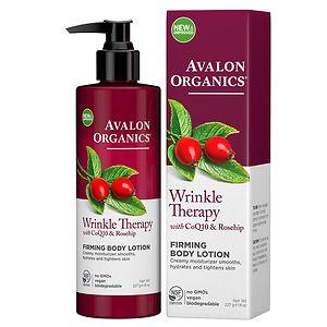Avalon Organics Wrinkle Therapy Firming Body Lotion- 8 fl oz