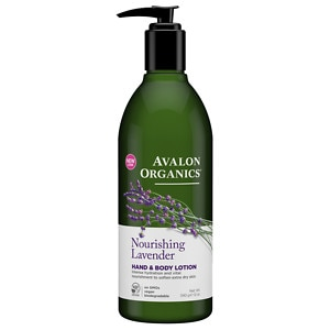 Avalon Organics Therapeutic Hand & Body Lotion, Lavender
