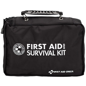 First Aid Only First Aid and Survival Kit, 168 Piece, 1 ea