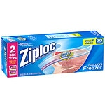 Ziploc Freezer Bags Value Pack, Gallon Size- 30 ea