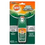 Deep Woods Off! for Sportsmen Insect Repellent I, Pump Spray, 100% DEET- 1 fl oz