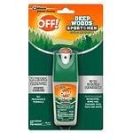 Deep Woods Off! for Sportsmen Insect Repellent I, Pump Spray, 100% DEET- 1 fl oz