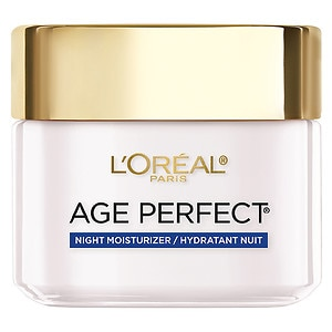 L'Oreal Paris Age Perfect Night Cream for Mature Skin- 2.5 oz