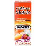 Children's Motrin Ibuprofen Oral Suspension, Dye-Free Berry