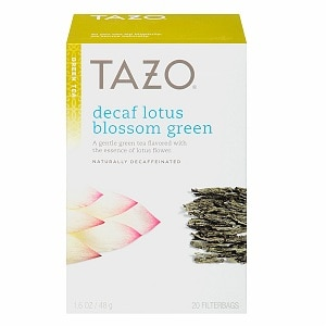 Tazo Green Tea, Decaf, Lotus Blossom, 20 pk