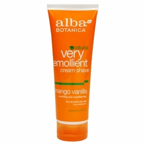 Alba Botanica Moisturizing Cream Shave, Mango Vanilla