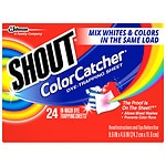 Shout Color Catcher Dye-Trapping, In-Wash Cloths