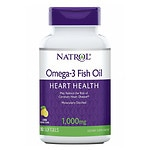 Natrol Omega-3 Fish Oil, 1000mg, Softgels- 90 ea
