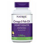 Natrol Omega-3 Fish Oil, 1000mg, Softgels- 90 ea
