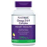 Natrol Omega 3-6-9 Complex- 90 softgels