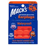 Mack's Pillow Soft Silicone Earplugs, Kid's Size