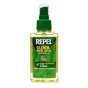 Repel Plant Based Lemon Eucalyptus Insect Repellent- 4 fl oz